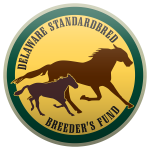 Image of the Delaware Standardbred Breeders' Fund logo
