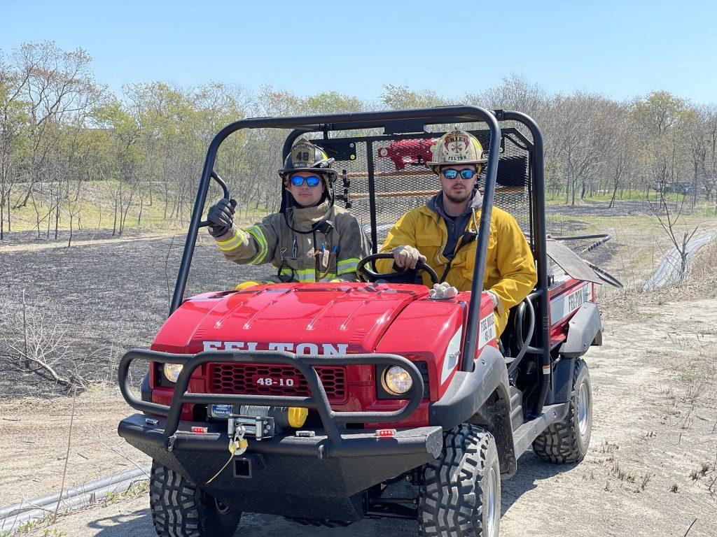 Felton Fire ATV