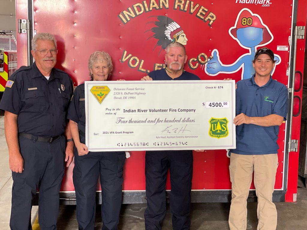 Indian River VFA grant 2021