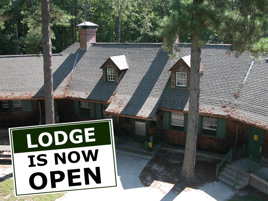 Lodge is now open