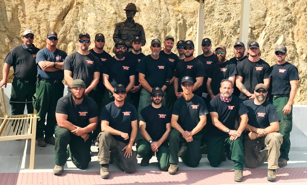 Delaware crew at Granite Mountain Hotshots Memorial
